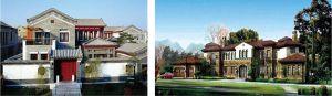 图4-2-5 建筑设计示意图