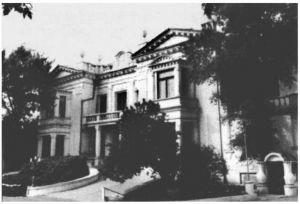 ◎建于1914年的Л.Ш.斯基德尔斯基私宅(摄于2010年)