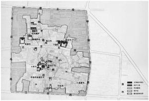 图1-2 八廓街历史文化街区保护范围示意图