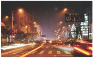 海城市夜景