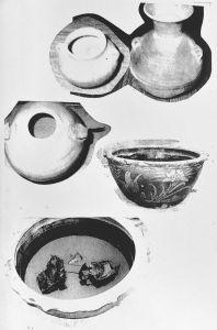 孟河20世纪60年代出土文物(现存武进博物馆)