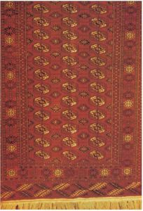 世界闻名的土库曼斯坦地毯