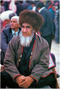 德高望重的土库曼斯坦长老