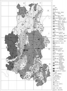 武平地质略图