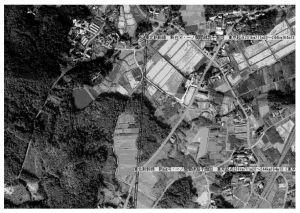 图5 铁道GIS新干线影像地图及其标注的显示