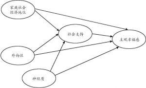 图5-1 研究假设框架