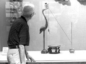图1 2012年福州三坊七巷保护修复成果展馆所陈列的诗钟用具