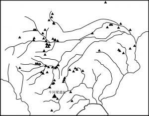 图0-1 红山文化遗址分布示意