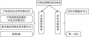 图1 宁阳县供销社综合改革路线