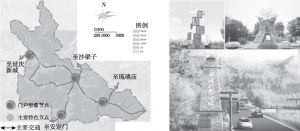图13-13 景观节点规划示意