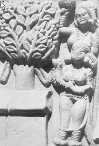 图5-26 礼佛 桑奇大塔公元前1世纪