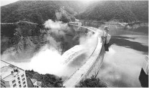 二滩水电站大坝