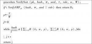 图10 验证加密排序