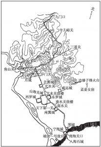 图22 山海关平面示意图