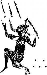图9 跳剑 汉代
