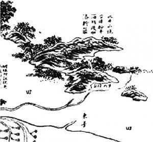 图3 《广东海防图》牛山炮台