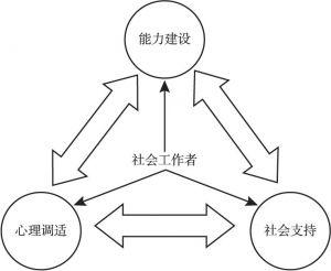 图1-4 综合发展的专业化策略的基本逻辑