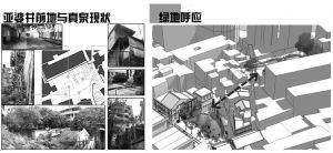 图3-28 营造绿化公共空间