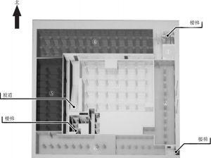 图2 事发建筑地下冷库平面示意图