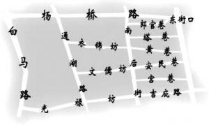图1 三坊七巷历史文化街区导览