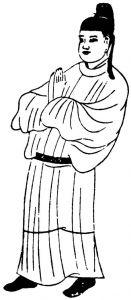 图27 圆领襕袍