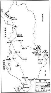 图5-69 考古旅行路线图