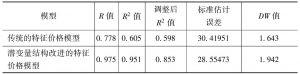 表8-11 两种模型预测效果比较
