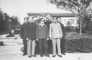 1985年部分学员在扬州师范合影