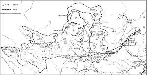 图1 黄河流域图