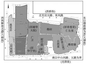 图2-1 中心服务辖区区域图