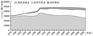 图2 农村就业的分化