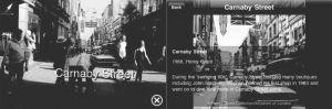 """图12-2 伦敦博物馆基于增强现实技术开发的手机导览应用——""""街道博物馆"""""""