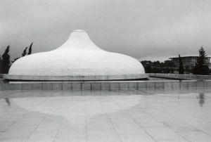 以色列博物馆院内的死海文书馆