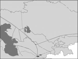 图3-1 土库曼斯坦天然气多元出口方向与路径示意图