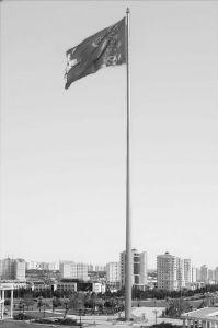 图5-23 土库曼斯坦国家大旗