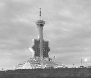 图5-29 土库曼斯坦国家广播电视塔