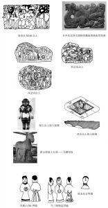 出土文物中的匈奴人形象