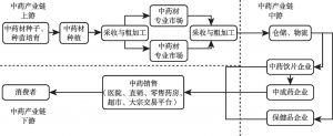 图2 中药全产业链