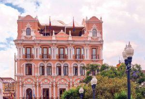 多历史中心新古典主义风格的建筑