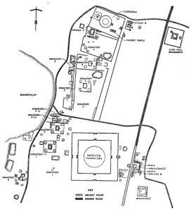 图1 大寺平面图