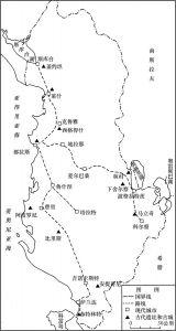 图1 考古旅行路线图