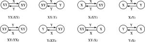 图3-2 赫-俄模型超边际分析中可能的贸易结构
