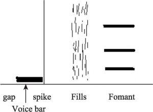 图3.3 辅音声学特征基本模式
