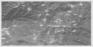 图1-6 河源村委会村民小组分布