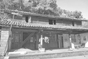 图1-10 河源村普通的白族住宅