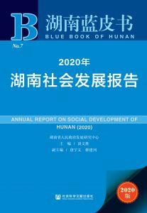 2020年湖南社会发展报告
