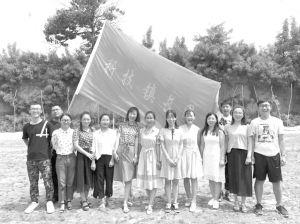 图6-1 合阳县首届研究生助力团成员合影