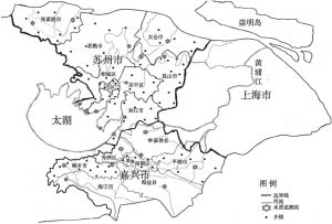图2 苏州、嘉兴两市流域