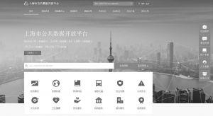 图19-1 上海市公共数据开放平台