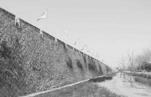 图2 永昌堡城墙